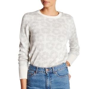 Equipment Femme Ondine Crew Neck Zip Sweater